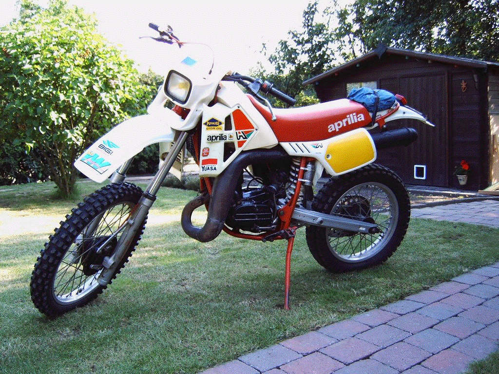 Garde boue Aprilia RC 1977-1978